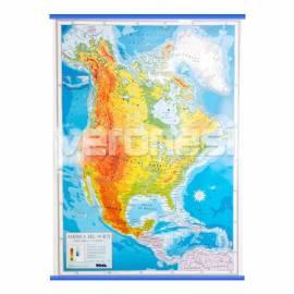Mapa Fis./pol. America Del Norte