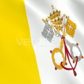 Bandera Ceremonia Papal Jardin