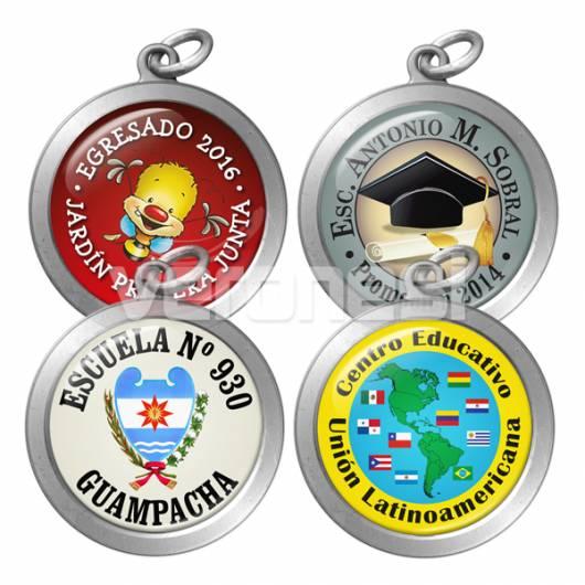 Medalla Resinada Especial 30 Mm