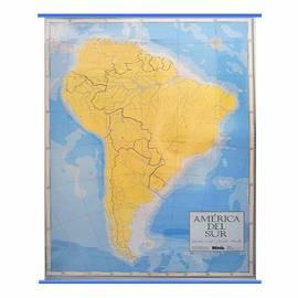 Mapa Mudo P/ Marcador America Del Sur