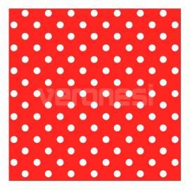 Papel C/lunares Rojo