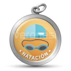 Medalla Resinada Natacion 32 Mm