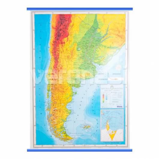 Mapa Fis./pol. Argentina
