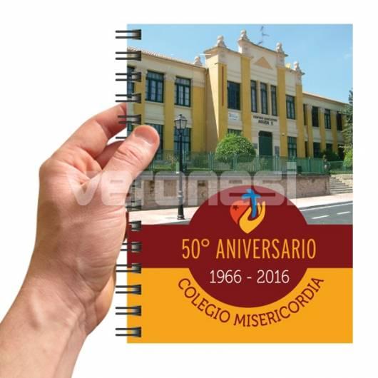 Agenda Personalizada 14.5x21 Cm.