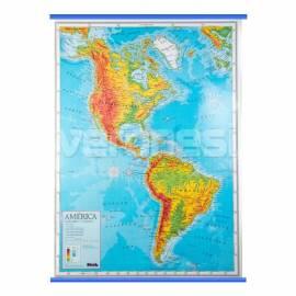 Mapa Fis./pol. America