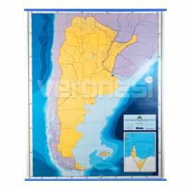Mapa Mudo P/ Marcador Argentina