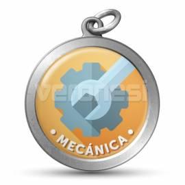 Medalla Resinada Tecnica 32 Mm