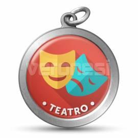 Medalla Resinada Teatro 32 Mm