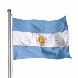 Bandera Flameo Arg. Con Sol 60x90