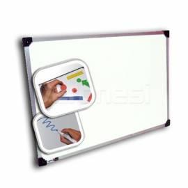 Pizarra Blanca Magnetica 90x140 Cm. Marco Plastico 12mm