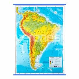 Mapa Fis./pol. America Del Sur