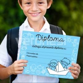 Diploma Jardin Barquito