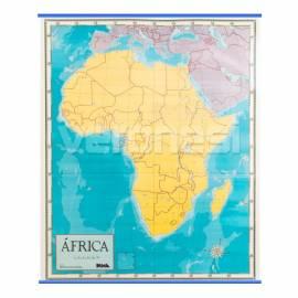 Mapa Mudo P/ Marcador Africa