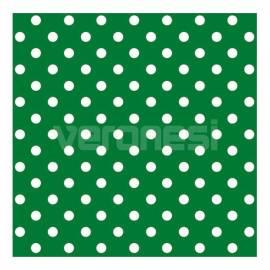 Papel C/lunares Verde