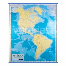 Mapa Mudo P/ Marcador America