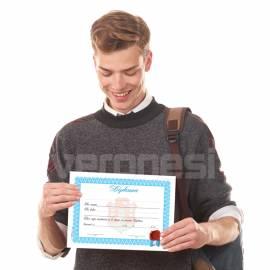 Diploma Terminacion Estudio C/escudo