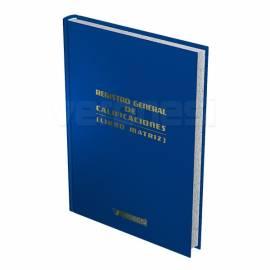 Libro Matriz 3 Años F.520