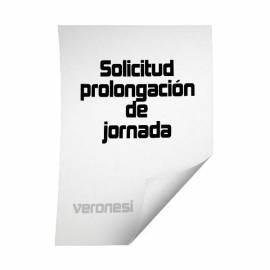 Planilla Sol.prolongacion De Jornada