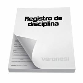 Registro Disciplina F.849 E X 50