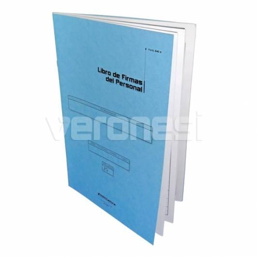 Libro Firma Personal F.840 A