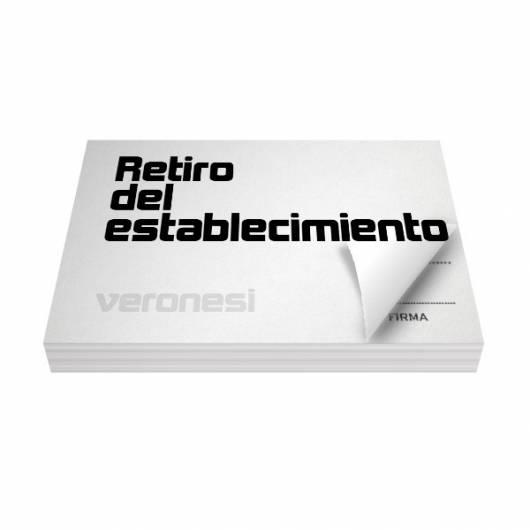 Autorizacion Retiro Anticipado  F.873 A X 50
