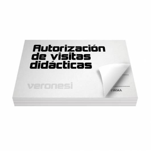 Autorizacion Visita Didactica F.866 E X 50