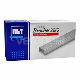 Broches Nº 26/6 X 1000