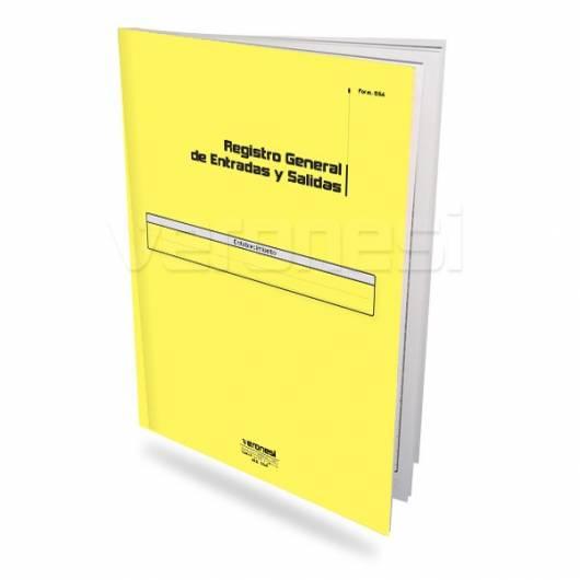 Libro Entradas/salidas F. 854
