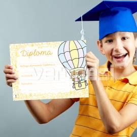Diploma Jardin Globo