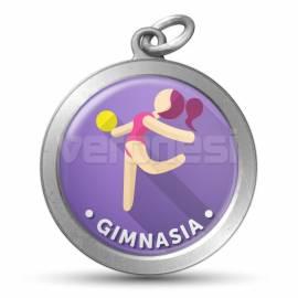 Medalla Resinada Gimnasia 32 Mm