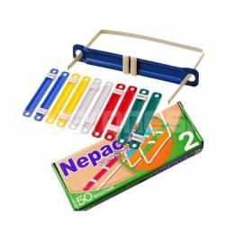 Broches Nepaco Plastico Nº 2 X 50