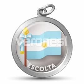 Medalla Resinada Escolta Argentina