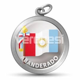Medalla Resinada Abanderado Cba 32 Mm