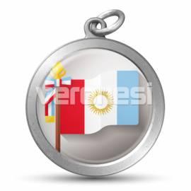 Medalla Resinada Cba 32 Mm