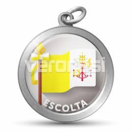 Medalla Resinada Escolta Papal