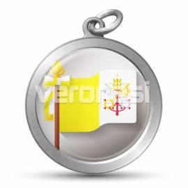 Medalla Resinada Papal 32 Mm