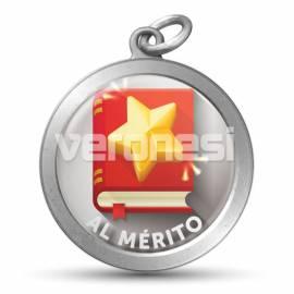 Medalla Resinada Al Merito 32 Mm