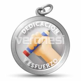 Medalla Resinada Dedicacion Y Esfuerzo
